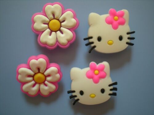 Clog Shoe Charm Plug Button Hole Sandal Jewelry Accessories Bracelet Hello Kitty