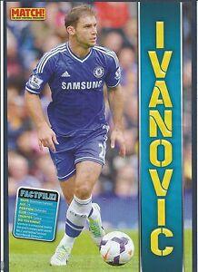 Welt Fussball Stars 2014 Branislav Ivanovic Chelsea Real
