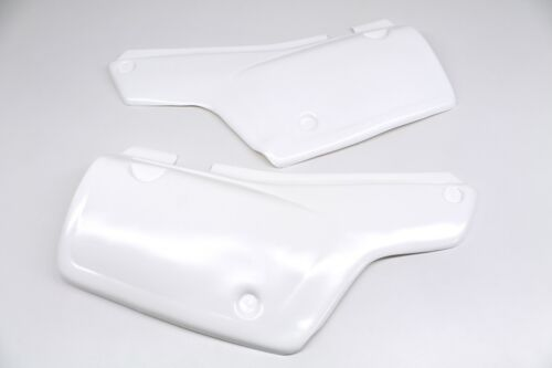 See notes Side Panels 83-87 Honda XL600 R Left Right Covers White Plastic #C38