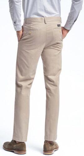 Khaki Color 30x30 NWT $69 Banana Republic Aiden Slim Fit Chino