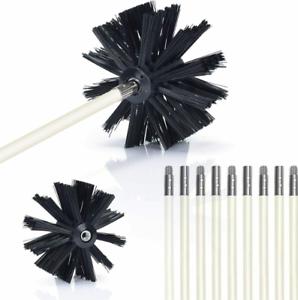 15 Feet Dryer Vent Cleaner kit Dryer Vent Cleaning Brush Lint Remover Brand New