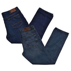Tommy-Hilfiger-Jeans-Homme-Jean-Classique-Tous-Tailles-Jambe-Droite-Brun-Piece