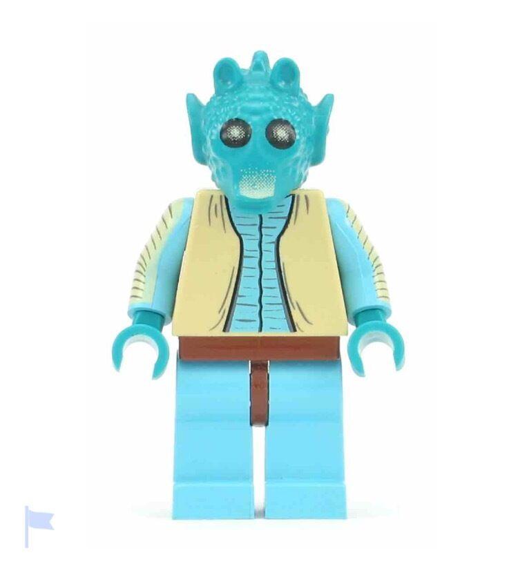 LEGO STAR WARS MINIFIGURE - GREEDO (4501)  NUEVO   NEW - LEGO ORIGINAL