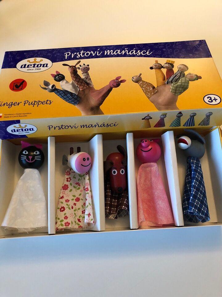 Andet legetøj, Finger puppets