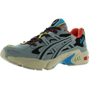 Asics-Womens-GEL-Kayano-5-Gray-Walking-Sneakers-Shoes-7-5-Medium-B-M-BHFO-9319