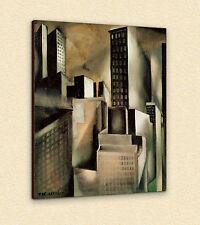 Tamara de Lempicka      NEW YORK    90 x 75 cm   TELA QUADRI CANVAS