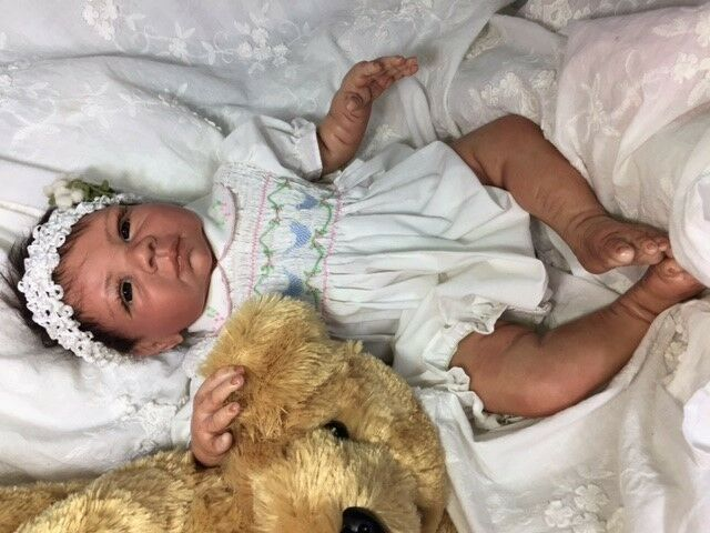 Reborn Baby Girl  Paisley  - Doll Therapy for Alzheimer's, Kids & Special Needs