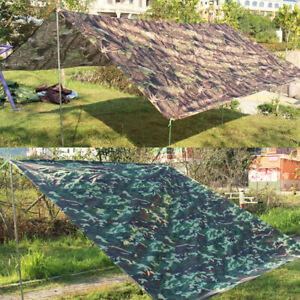 3m x 3m Waterproof Hammock Rain Fly Tent Tarp Sun Shade Shelter Camping Hiking
