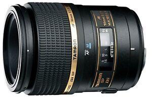 TAMRON-Camera-Lens-For-Nikon-SP-AF90mm-F2-8-Di-MACRO-Fullsize-272ENII
