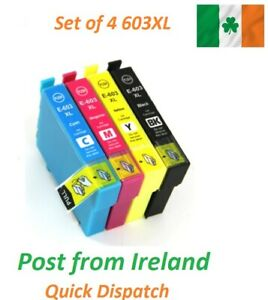 Ink Cartridge 603XL for Epson WF-2810DWF WF-2830DWF WF-2835DWF WF-2850