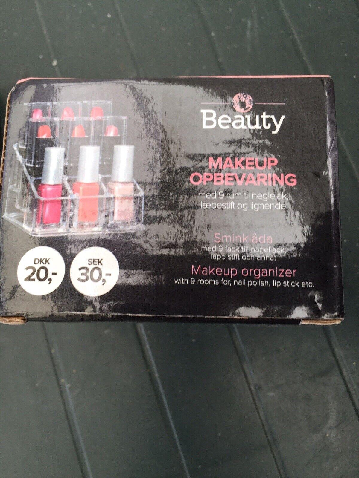 Picture of: Beauty Makeup Opbevaring Ndash Dba Dk Ndash Kob Og Salg Af Nyt Og Brugt