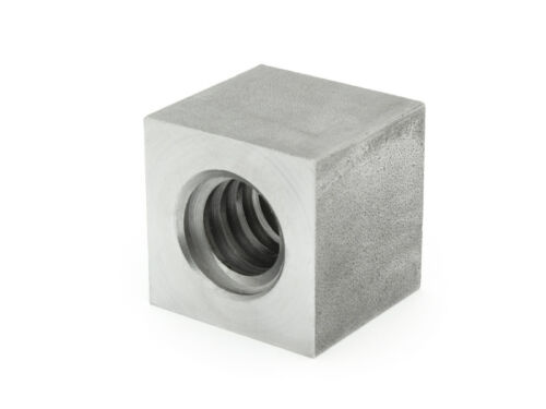 Trapezoidal Thread Nut Evkm 20X4 Left Steel Square SW35L30