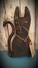 Primitive Black Cat & Mouse Doll ~*~ Kitty~*~ Make-do~*~