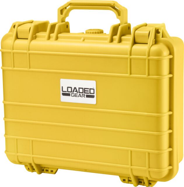 Barska Loaded Gear� HD-200 Hard Case (Yellow) BH12670