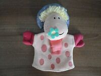 PUPPET - MAGIC ROUNDABOUT'S ERMINTRUDE HAND PUPPET- RARE VINTAGE - GREAT GIFT!