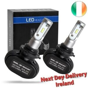 12000LM H11 H8 H4 H1 H7 Car LED Headlight Kit S1 Hi/LoCSP 6000K White LED Bulbs