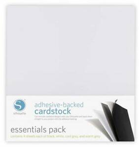 SILHOUETTE-Adhesive-Backed-Cardstock-Essentials-pack