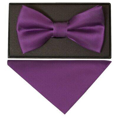 New Men/'s Cadbury Purple Designer Silk Tie Express Delivery Available Gift
