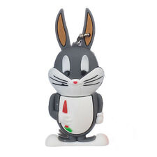 Gray Rabbit Bunny Animal Cute Novely 16GB USB Drive Memory Stick Gift Present