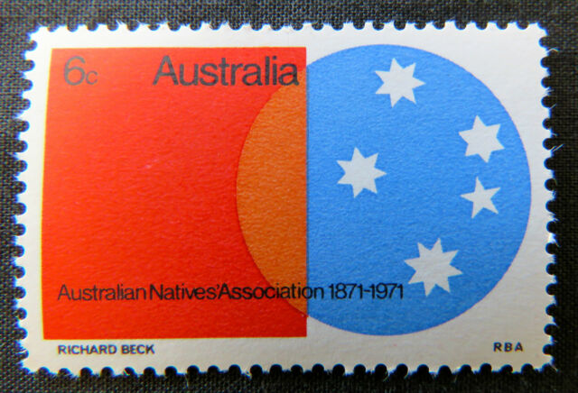 1971 Australian Stamps - Centenary of the Aust Natives Assoc - Single MNH