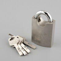 Vintage TIGON 4 Keys Heavy Duty High Security Steel Lock Padlock 40mm