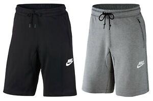 Details about New Men's Nike Logo Slim Fit Zip Pocket Shorts - Sports Gym  Long Knee Length