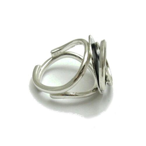 Sterling silber ring  Kreise 925 einstellbare größe R001756 EMPRESS