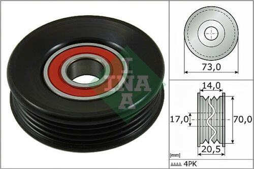 INA V-Ribbed Belt Tensioner Pulley 531 0853 10 531085310-5 YEAR WARRANTY