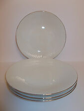 4 x Hutschenreuther Luxor China Dinner Plates made in Germany Lovely