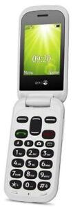 Doro-2404-2-4-inch-0-3MP-Telephone-Portable-Noir-Blanc-Ouvert-Boite
