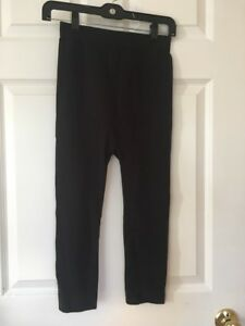Be-Maternity-Ingrid-And-Isabel-Womens-Black-Shape-Wear-Capris-Pants-Size-S-M