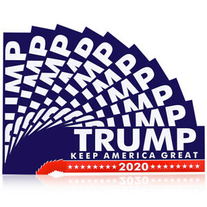 10X-Set-Keep-America-Great-Again-2020-Trump-President-Car-Decal-Bumper-Stickers