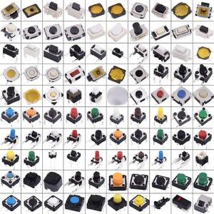 200Pcs-Micro-Push-Button-Kit-Tact-Switch-Reset-2x4-3x4-3x6-6x6-12x12mm