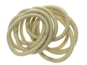 Blonde-Snag-Free-Hair-Elastic-Bobbles-Hair-Bands-Hair-Accessories