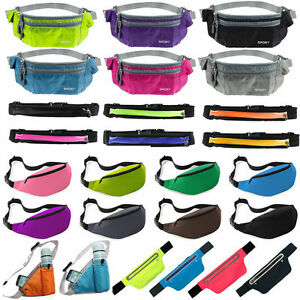 Sports-Runner-Waist-Bum-Bag-Running-Jogging-Belt-Pouch-Zip-Fanny-Pack-Women-Men