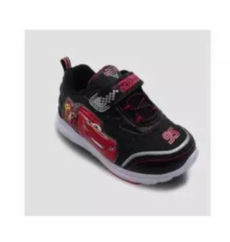 NEW Disney Pixar Cars with Lights Toddler Sneakers