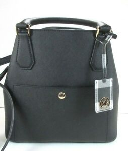 e209c8ba6441 Image is loading NEW-Authentic-Michael-Kors-Greenwich-Large-Grab-Bag-