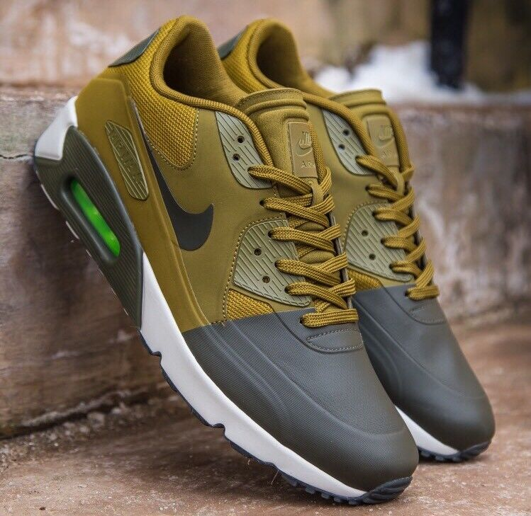 Nike Air Max 90 Ultra 2.0 SE Cargo Khaki Olive Militia Green 876005-300 Men Sz 9