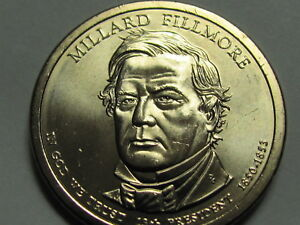 "2010 D Millard Fillmore Presidential /""Unopened/"" Mint Dollar 25 Coin ROLL"