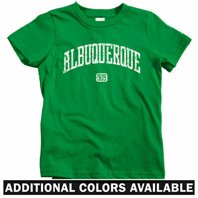 Albuquerque New Mexico Unisex Youth Shirts T-Shirt Tee