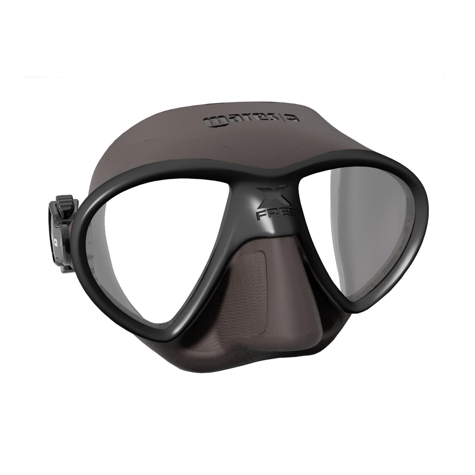 Mares X-FREE Mask SF, FreeDive, Scuba, Diving Dive Brown 421412