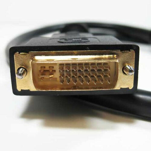DVI-I Dual Link 24+5 -Pin Male Digital//Analog Video Cable Ferrites 3Ft-15Ft