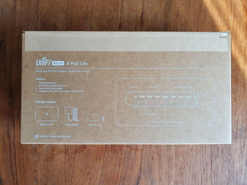 Switch, Unifi USW-Lite-8-POE