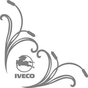 Iveco Truck Tribal style cab side window stickers pair