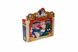 Large-4-Hand-Puppets-Set-Punch-amp-Judy-Story-Pack-BRAND-NEW