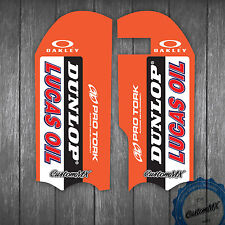 KTM SX50 SX65 2016 LOWER FORK GUARD GRAPHICS STICKERS SX 65 50 '16