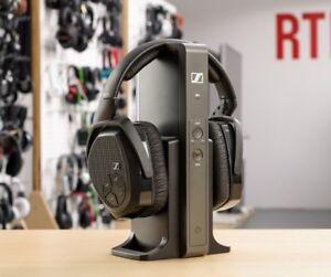 7d09c6d7524 Sennheiser RS 175 RF Wireless Stereo Headphone System for TV & Music ...