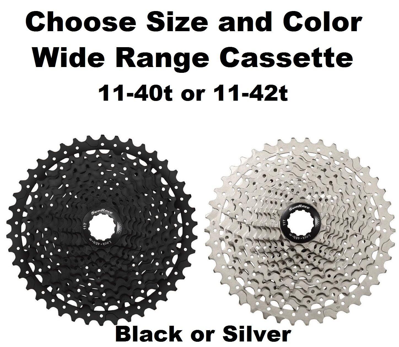 SunRace CSMS7 11 Speed 11-40  11-42t MTB Bike Cassette fits Shimano SRAM 1130 1X