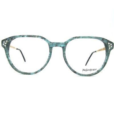 Sportivo Yves Saint Laurent Vintage Eyeglasses Mod. Persephone Col. 670 Con Strass