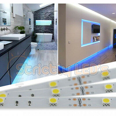 LED STRIP LIGHTS TAPE RIBBON KITCHEN CABINETS PLINTH LIVING ROOM PLASMA TV HOME